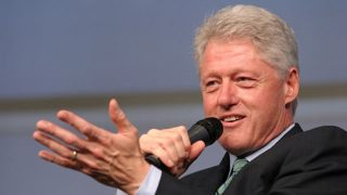 Bill Clinton Has Hearing Loss