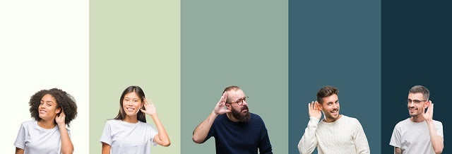 Hearing loss collage