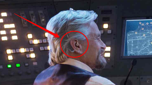 Marvel's Ant-Man wears a hearing aid to communicate with the ants.