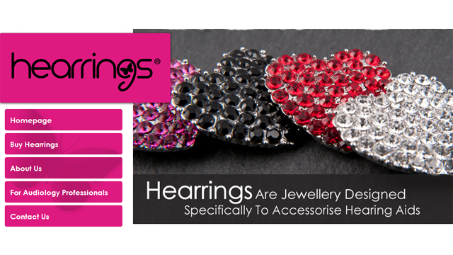 Hearrings Jewelry Decorations for Hearing Aids
