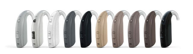 ReSound ENZO2 model in various colors