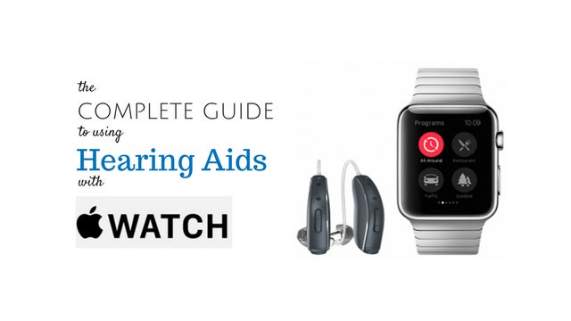 Using Hearing Aids with Apple Watch