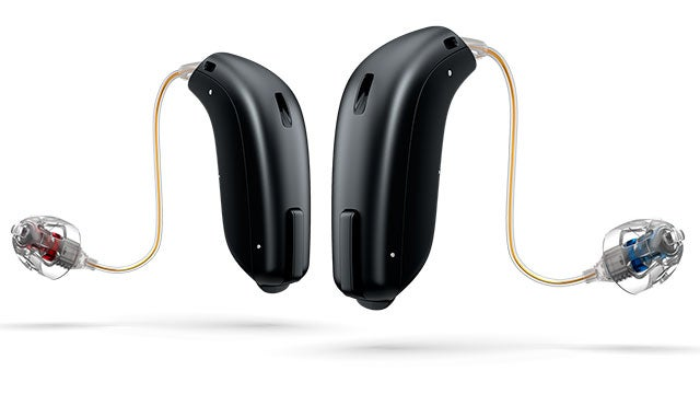 Oticon OPN hearing aid with tinnitus support