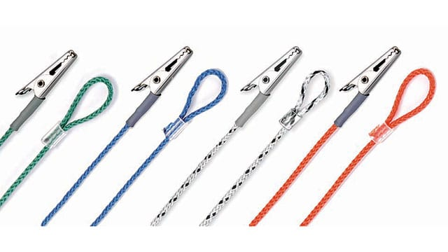 hearing aid clips in various colors