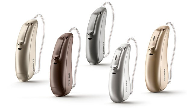 phonak audeo marvel hearing aids in various colors