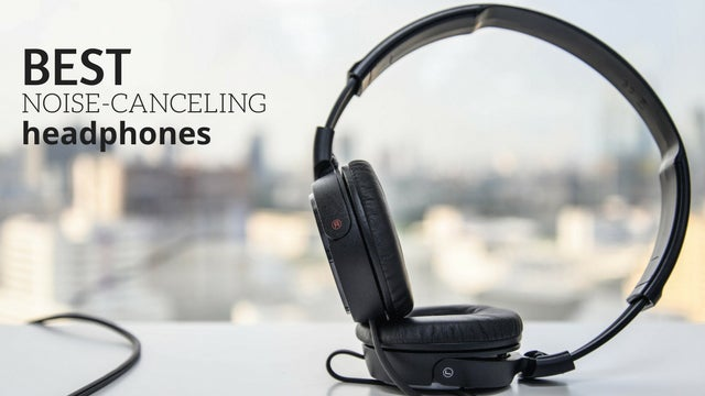 Sound cancelling headset with mic