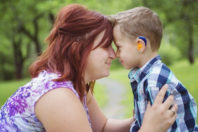 Child's hearing aid