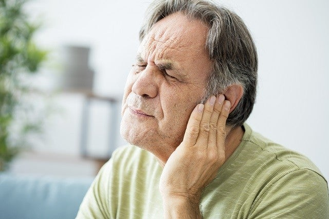 Man with Tinnitus